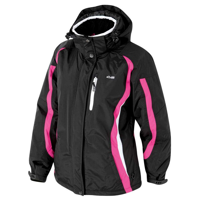 93c33a8d8 Arctic Star Powder Women's Ski Jacket - Black/Pink | Clothes ...