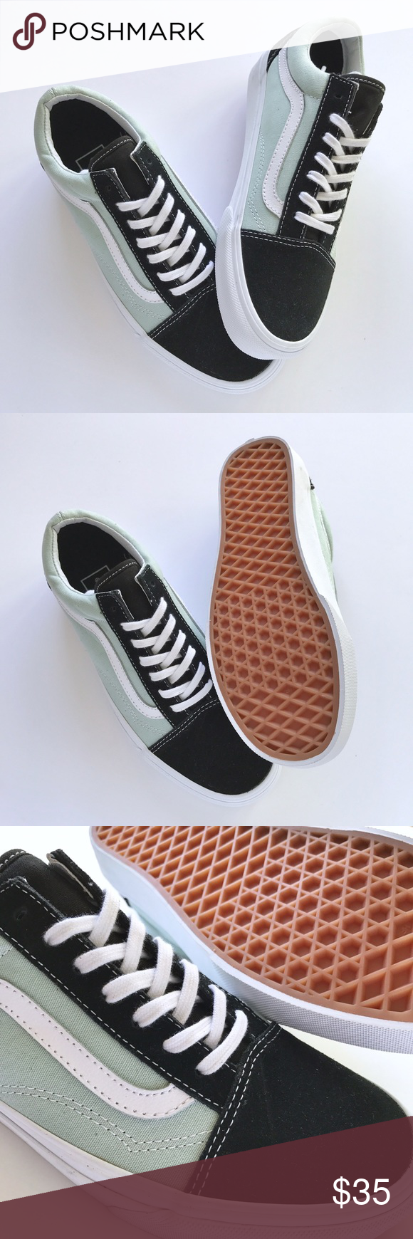7a770a81bc New    Vans Old Skool Black Mint Never been worn