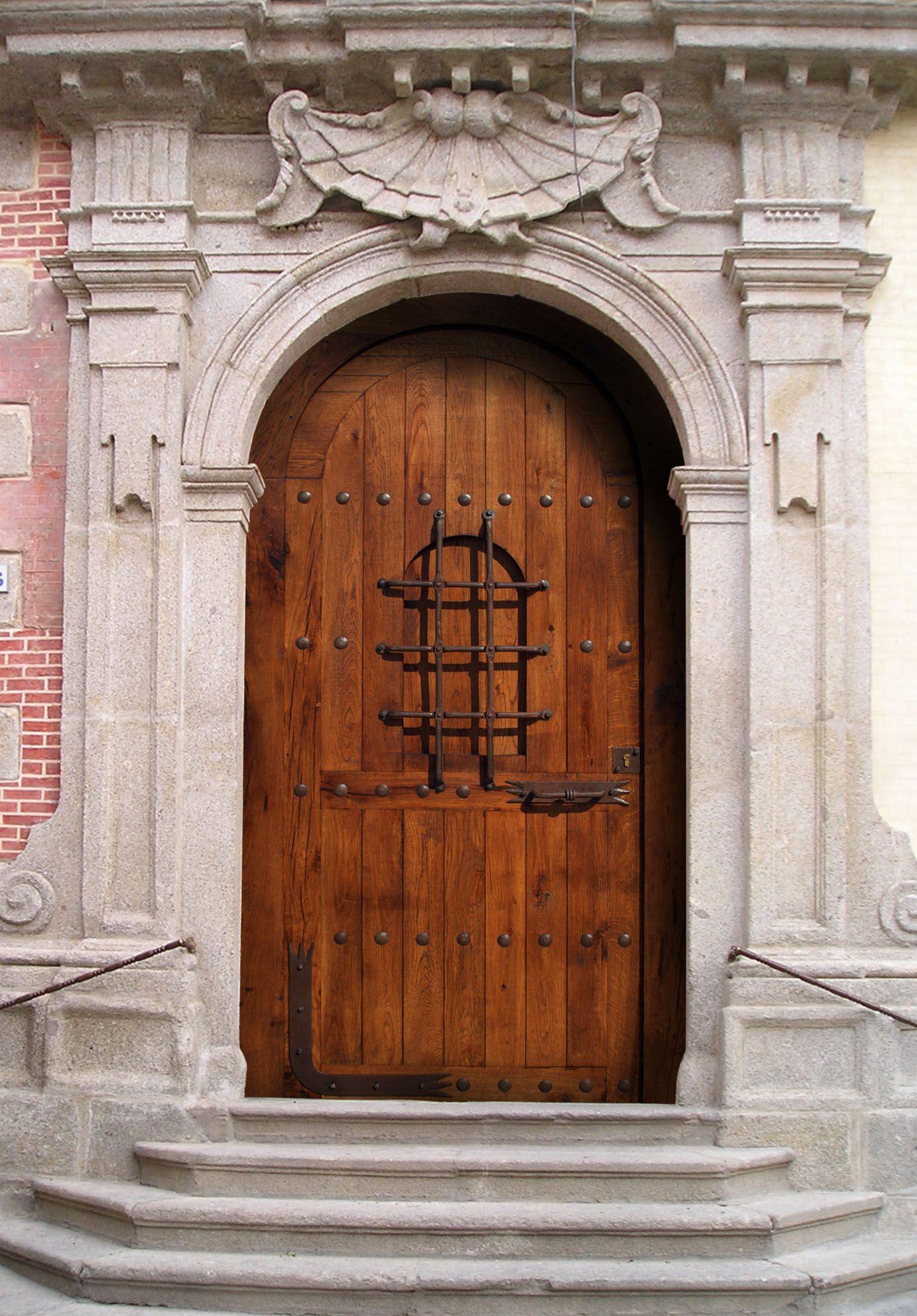 Puertas de madera rusticas google search especies de for Puertas para casas rusticas