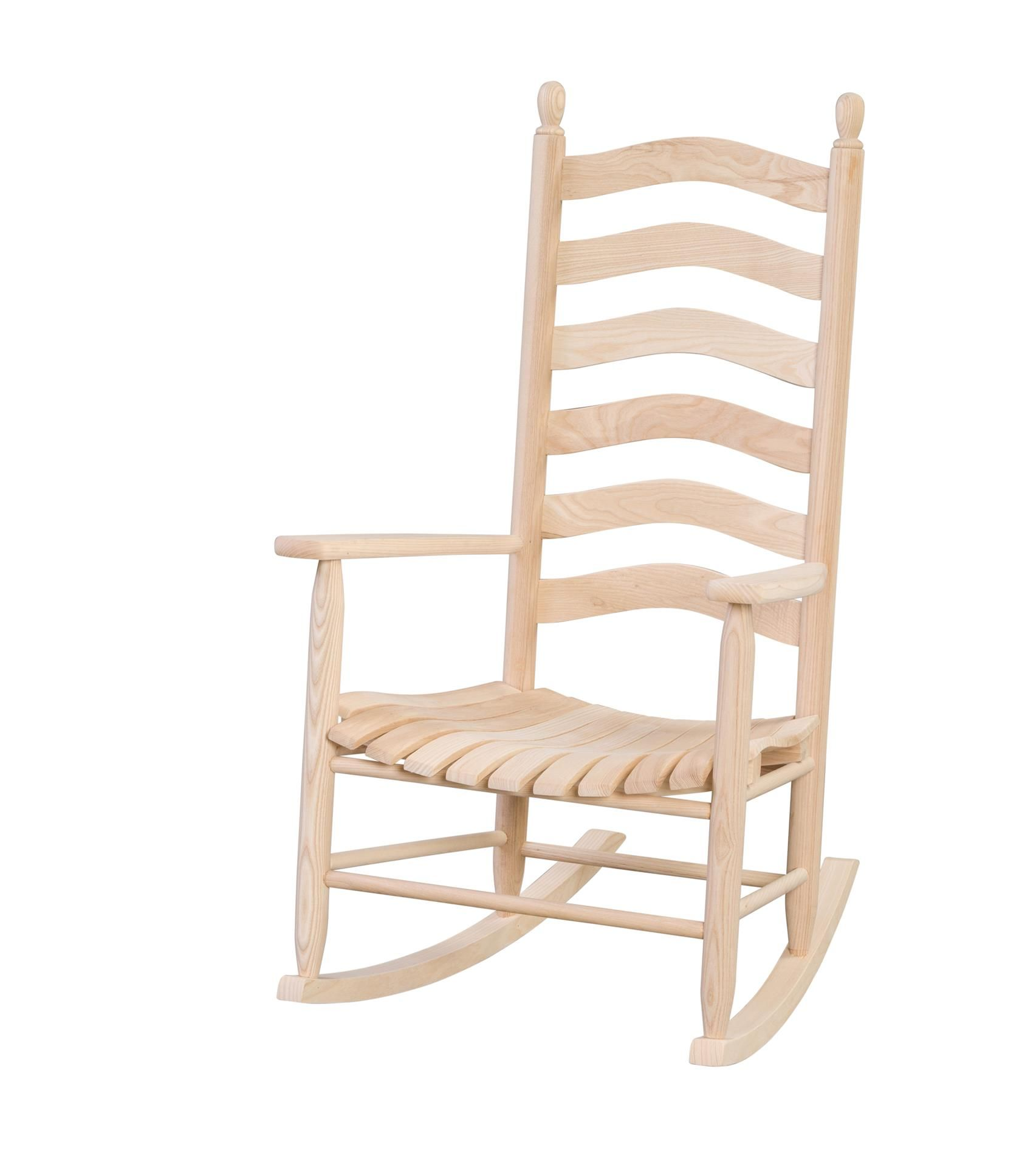 amish ash wood outdoor ladderback rocking chair rocking chairs