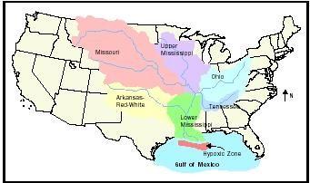 Where Is Missouri MissouriMississipi River System Pinterest - Mississippi on map of usa
