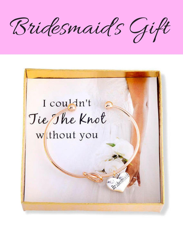 Party Proposal Bridesmaid Gift Bridesmaid Bracelet Tie The Knot Bracelet .