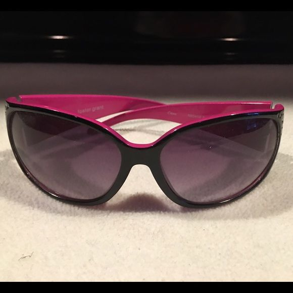 Bling sunglasses  No brand ~ pink with bling on the side~ just a fun pair of sunglasses if you don't want to get your new ones broken  Accessories Glasses