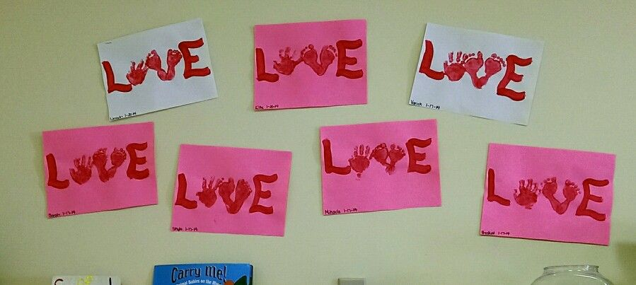 Valentines Projects For Infants Art That Inspires Pinterest