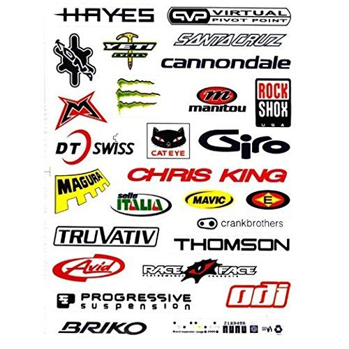 Top 10 Sports Stickers For Bikes Of 2020 Cycling Decor Mtb Bike