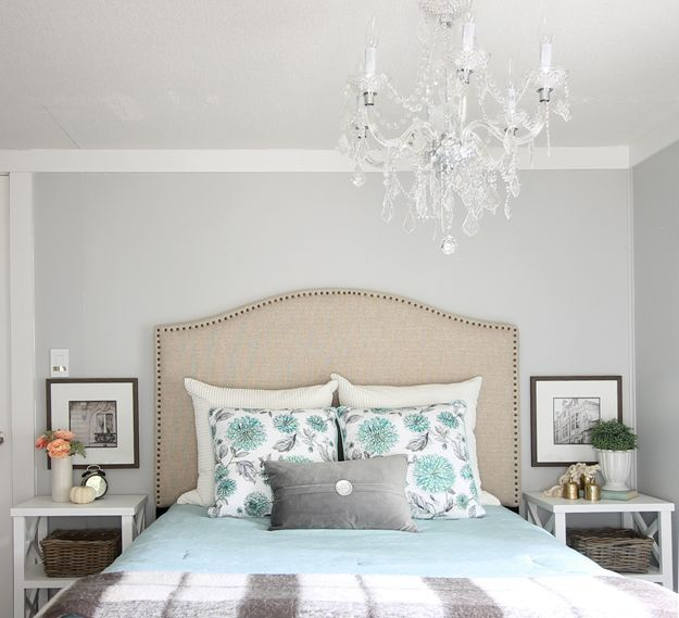 How to do a modern farmhouse bedroom makeover for under 500