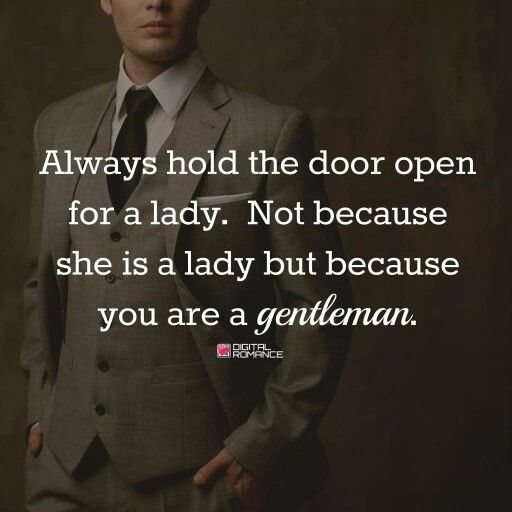 qualities of a true gentleman