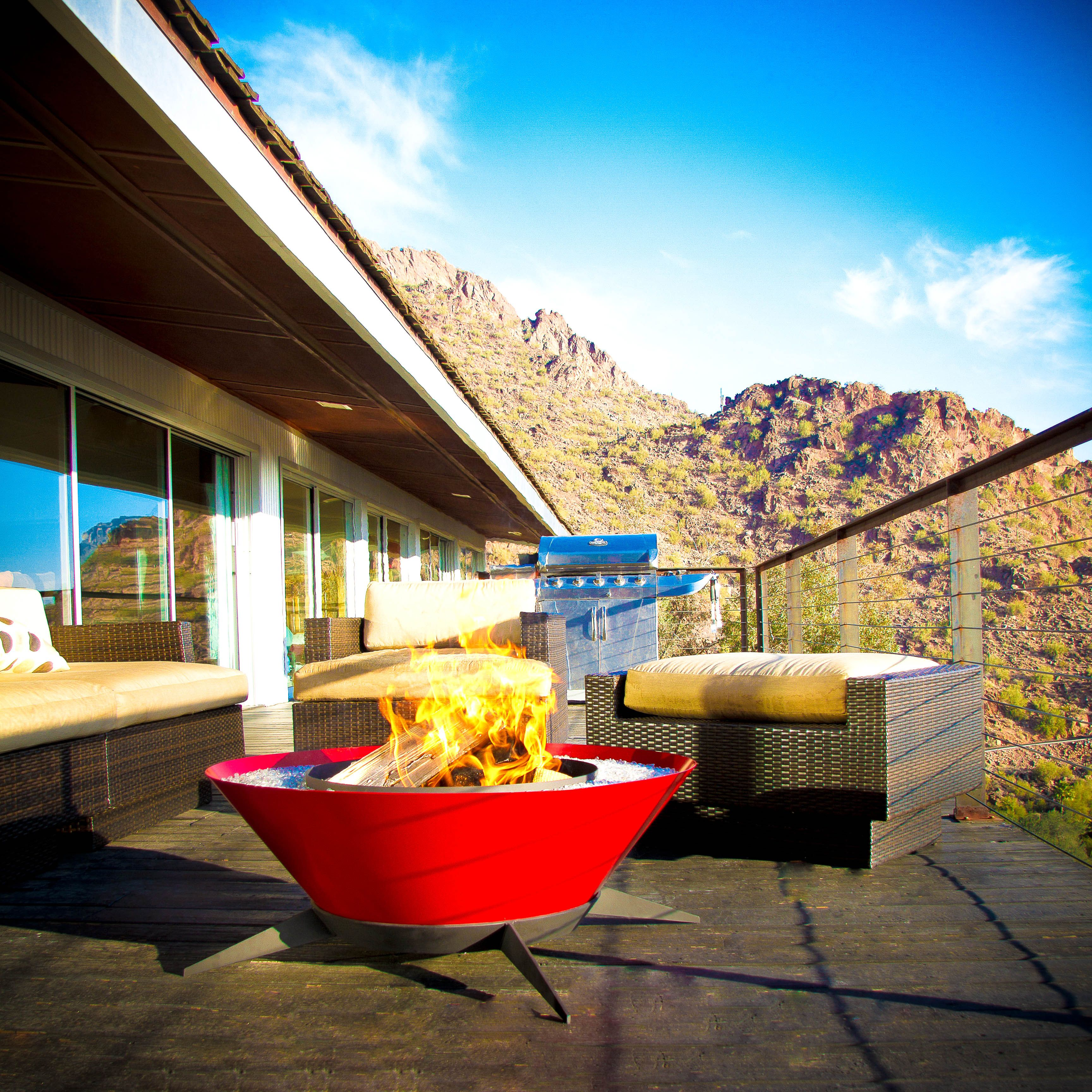 Astrofire by Modfire stunning in Maraschino A Midcentury Modern