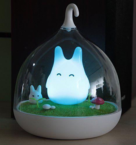 Oisk Children S Night Lights Hand Held Design Touch Sensor Vibration Birdcage Lamp Totoro Bedside Night Li Childrens Night Light Birdcage Lamp Childrens Lamps