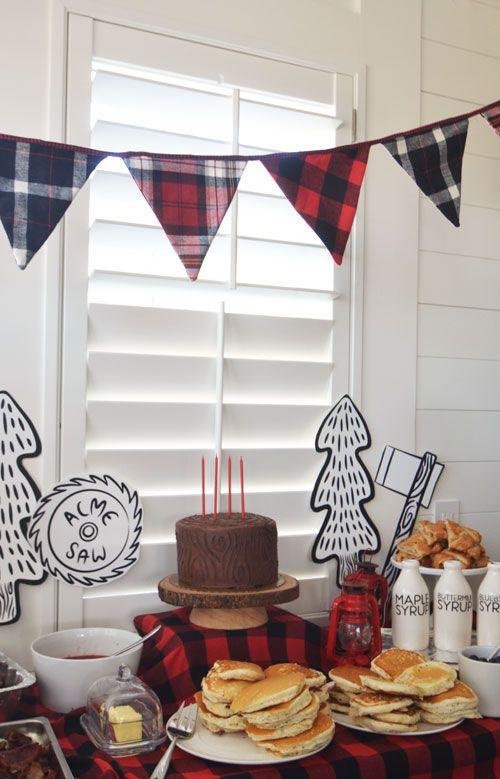 Lumberjack Birthday Party | Jenallyson - The Project Girl - Fun Easy ...