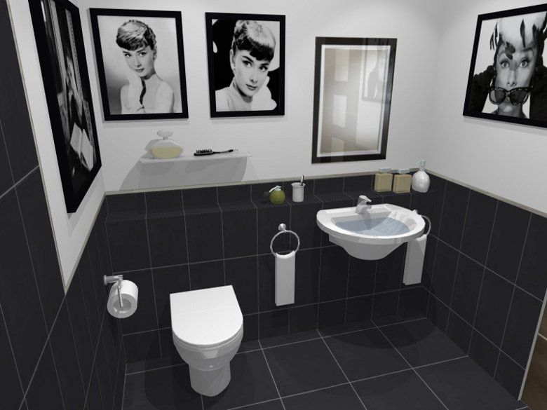 Image Gallery Website black and white bathroom Verizon Search Results