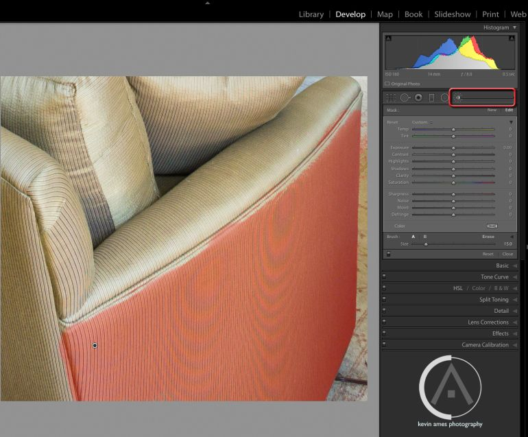 What is moire in lightroom