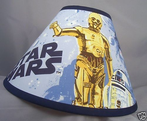 Star Wars Pottery Barn Kids Fabric Lamp Shade Sizes To Choose From!