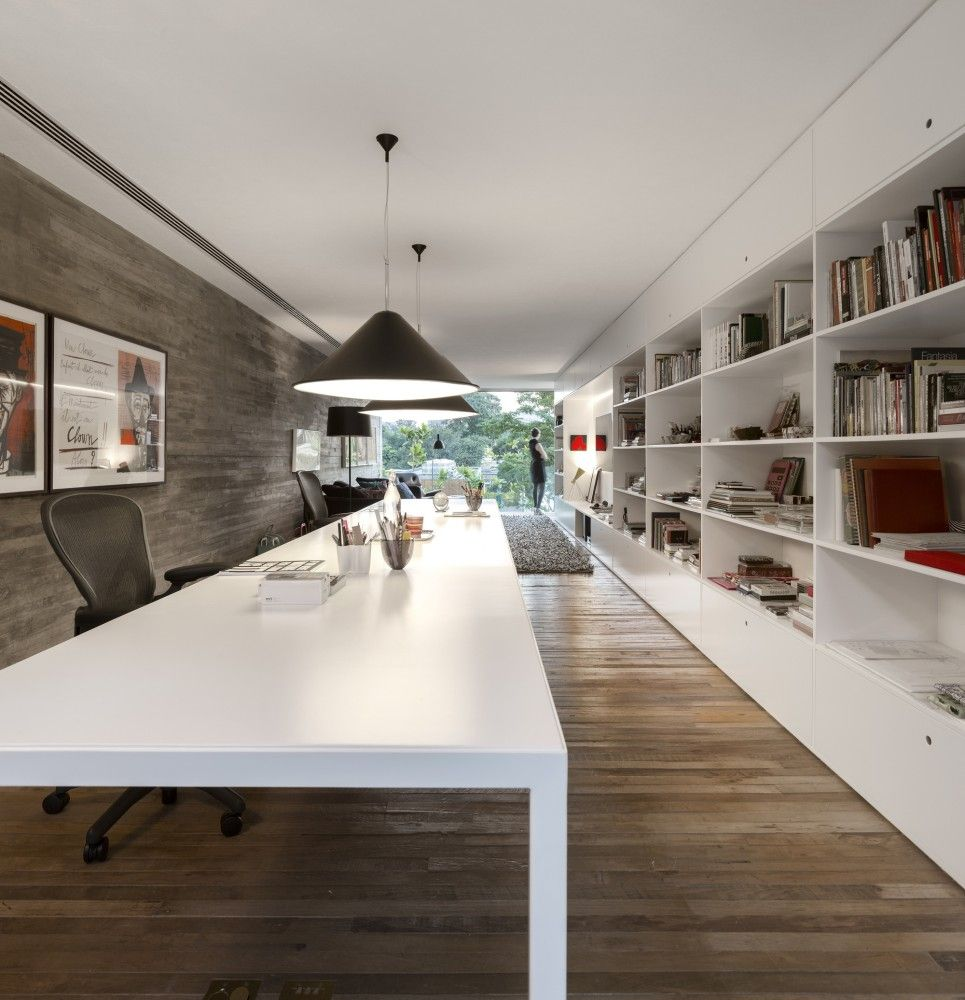 Home-office-innenarchitektur ideen gallery of cube house  studio mk  marcio kogan  suzana