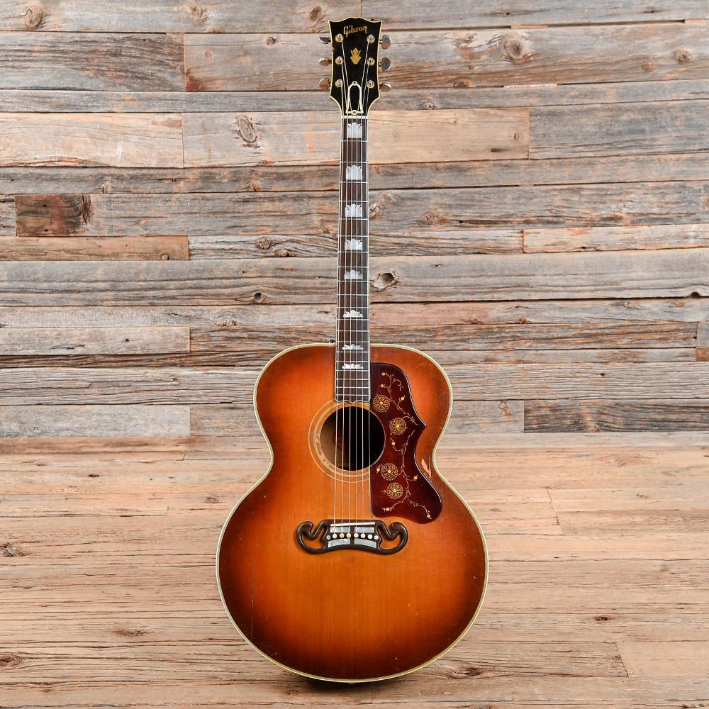 1960 Gibson J 200 Sunburst Sunburst Gibson Installation