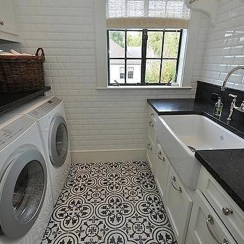 Painted Concrete Floors Basement Laundry Rooms