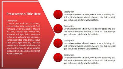 Simple And Modern Powerpoint Template Free Download Redcover