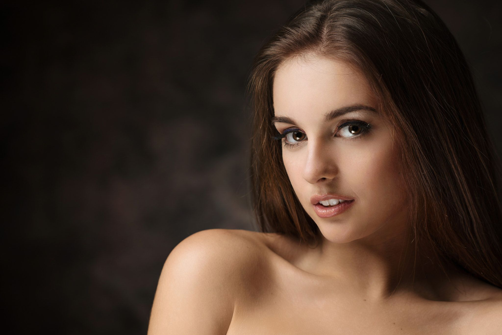 Portrait   model: Nastya Lokteva photo by: Maxim Maximov