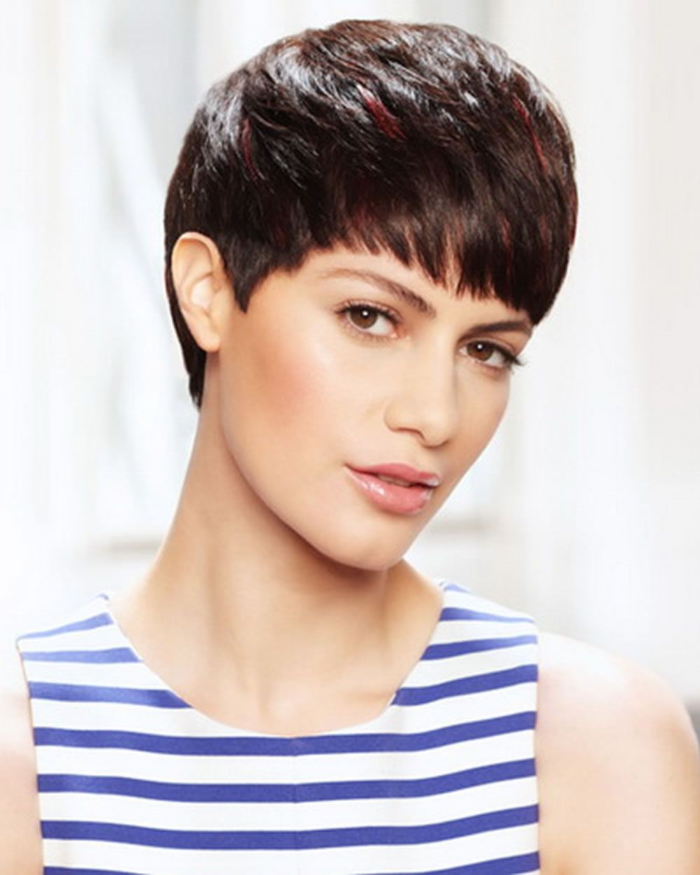 Short hairstyles and pixie hair cut images for women short