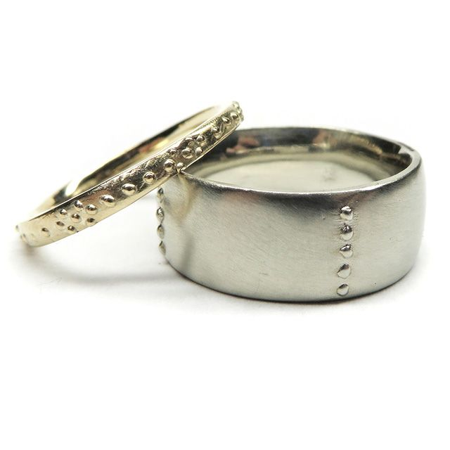 Organic Wedding Bands
