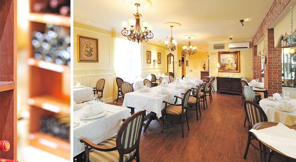 Photographie du0027architecture au Manoir Rouville Campbell Mont St - lustres salle a manger