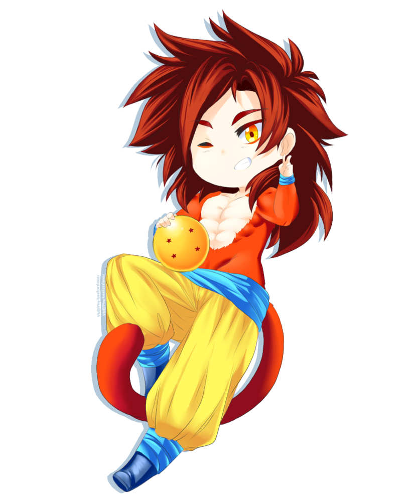 Pin On Goku Super Saiyan 4