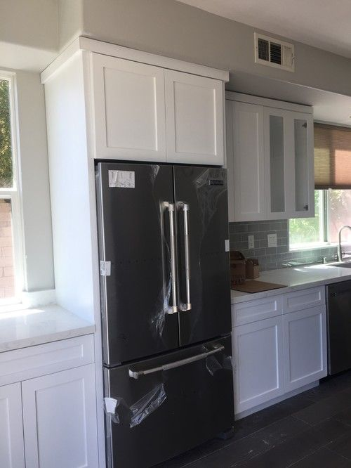 Crown Molding to Kitchen Cabinets