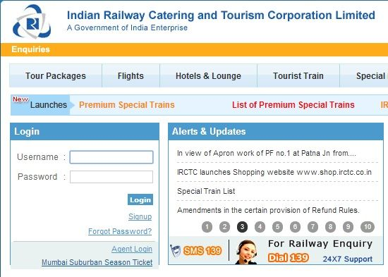 How To Create Register An New Account On Irctc Book Tickets
