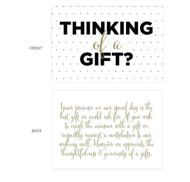 wishing well wedding wording - Google Search | Wedding Ideas ...