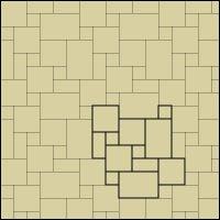 Travertine Tile Layout