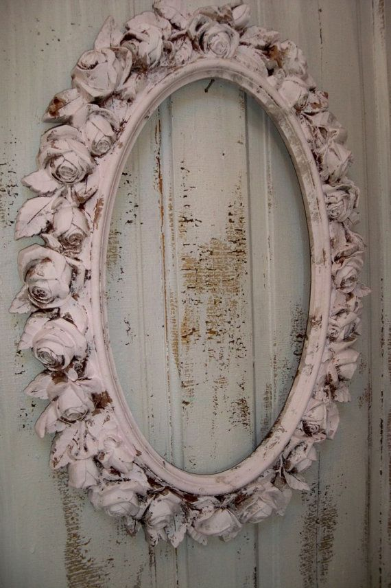2c32b95da73e Reserved for B till Sat 12 Large picture frame pink ornate with ...
