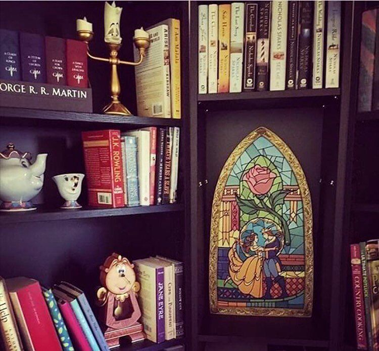 A Beauty And The Beast Themed Library I D Say It S Perfection Thank You So Much For Sharing Yadee427 This Disney Room Decor Disney Home Decor Disney Decor