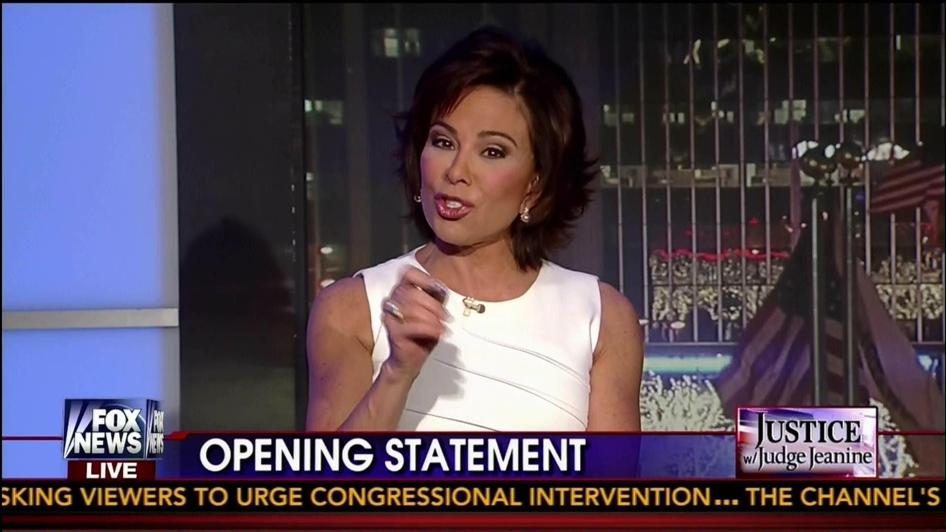 Judge Jeanine To Obama Shame On You Mr President Opening Stateme Fox News Hosts Documentaries Youtube Jeanine Pirro