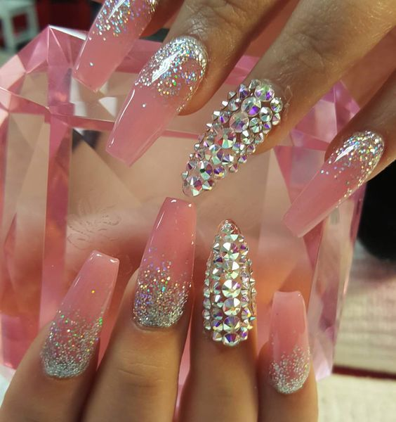 Instagram photo of acrylic nails by nailsby_cinthya | Nailed it ...