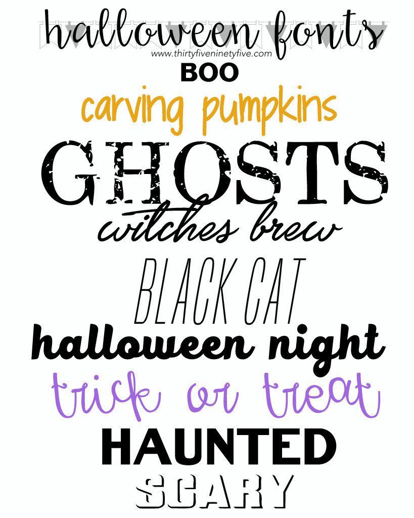 Halloween Fonts   Halloween   Pinterest   Fonts