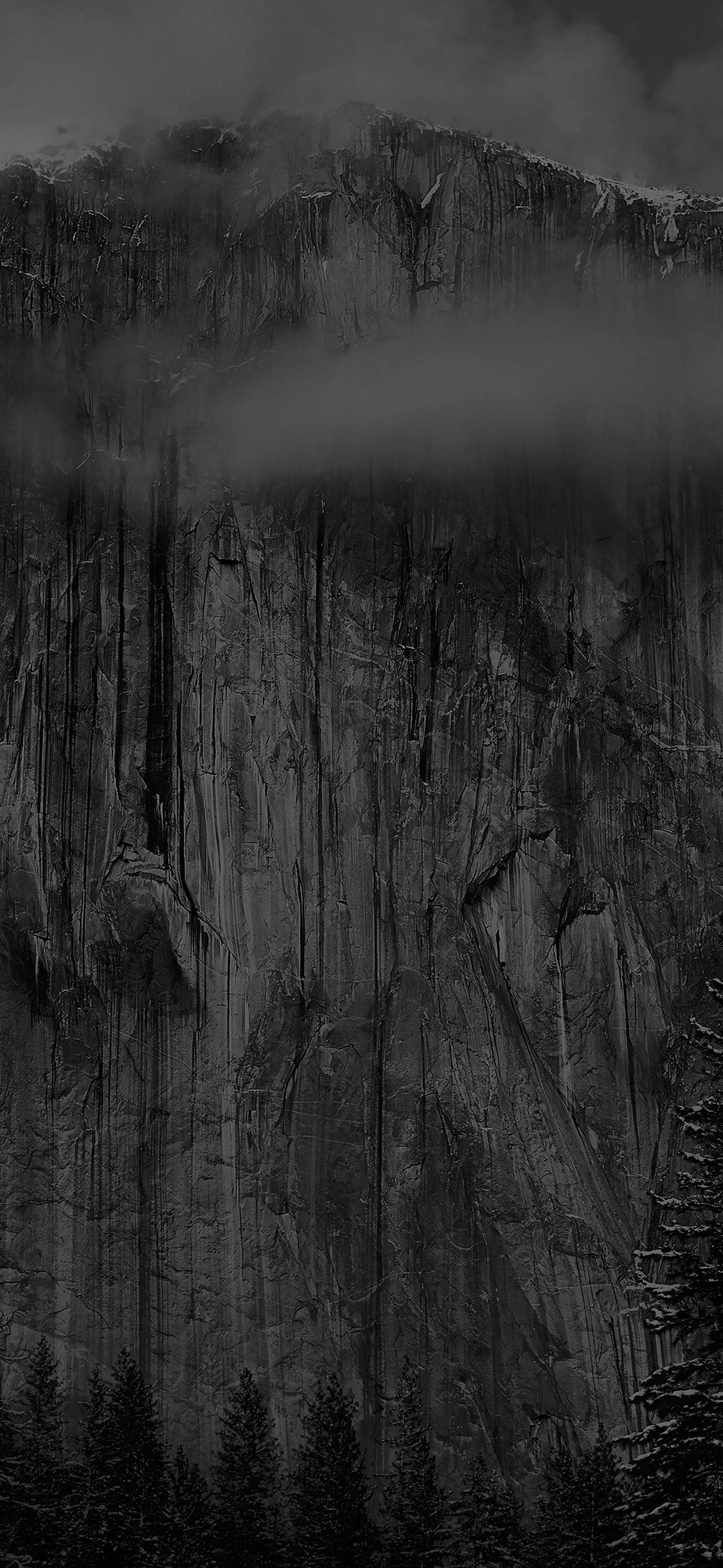 Papers Co Mg49 Os X Yosemite Black Wallpaper Apple 41 Iphone Wallpaper Jpg 1125 2436 Black Wallpaper Apple Wallpaper Osx Yosemite