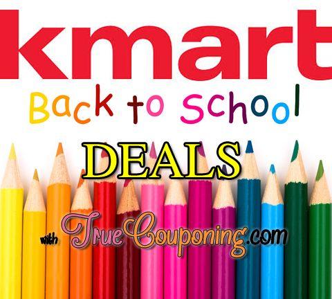 Kmart Back To School Deals 8/3 – 8/9 | School