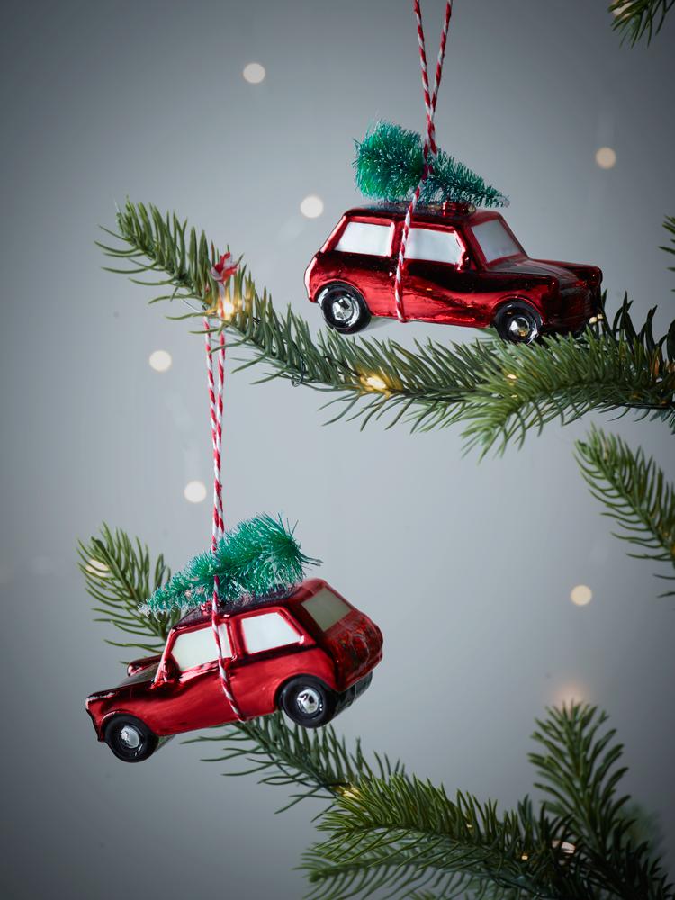 New Two Vintage Car Decorations Vintage Car Decor Christmas Tree Decorations Retro Christmas