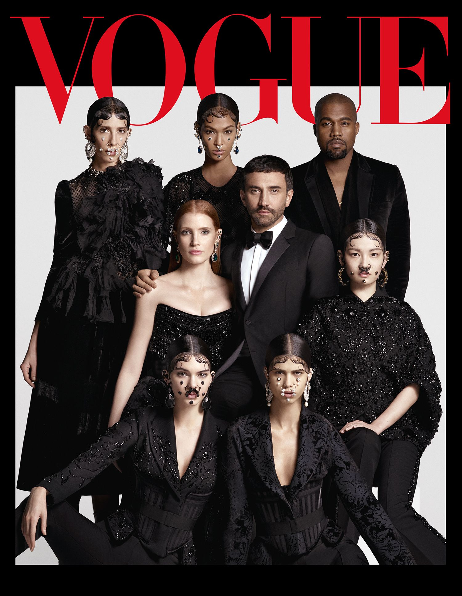 Japan vogue august givenchy gang photo