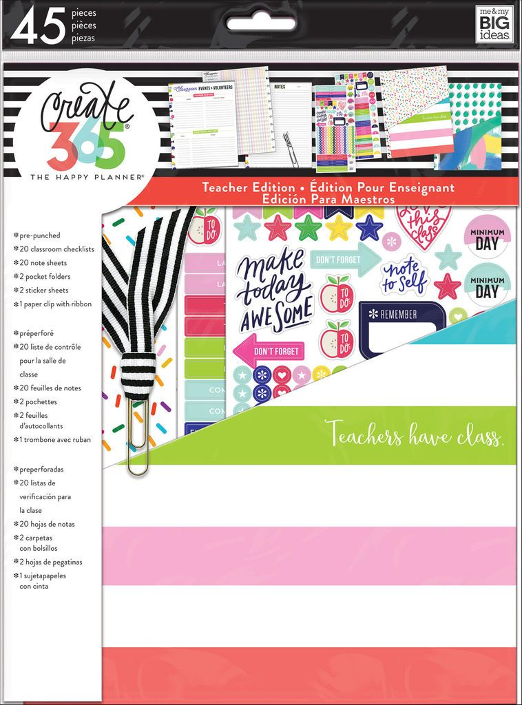 Michaels Happy Planner Teacher Stickers