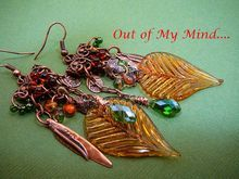 Bold and Beautiful ~ Out of My Mind Earrings
