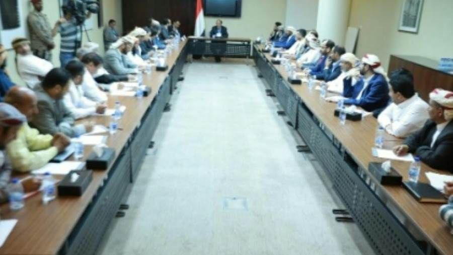 نائب الرئيس هادي يلتقي محافظي وقيادات إقليم سبأ Hockey Rink Field Hockey