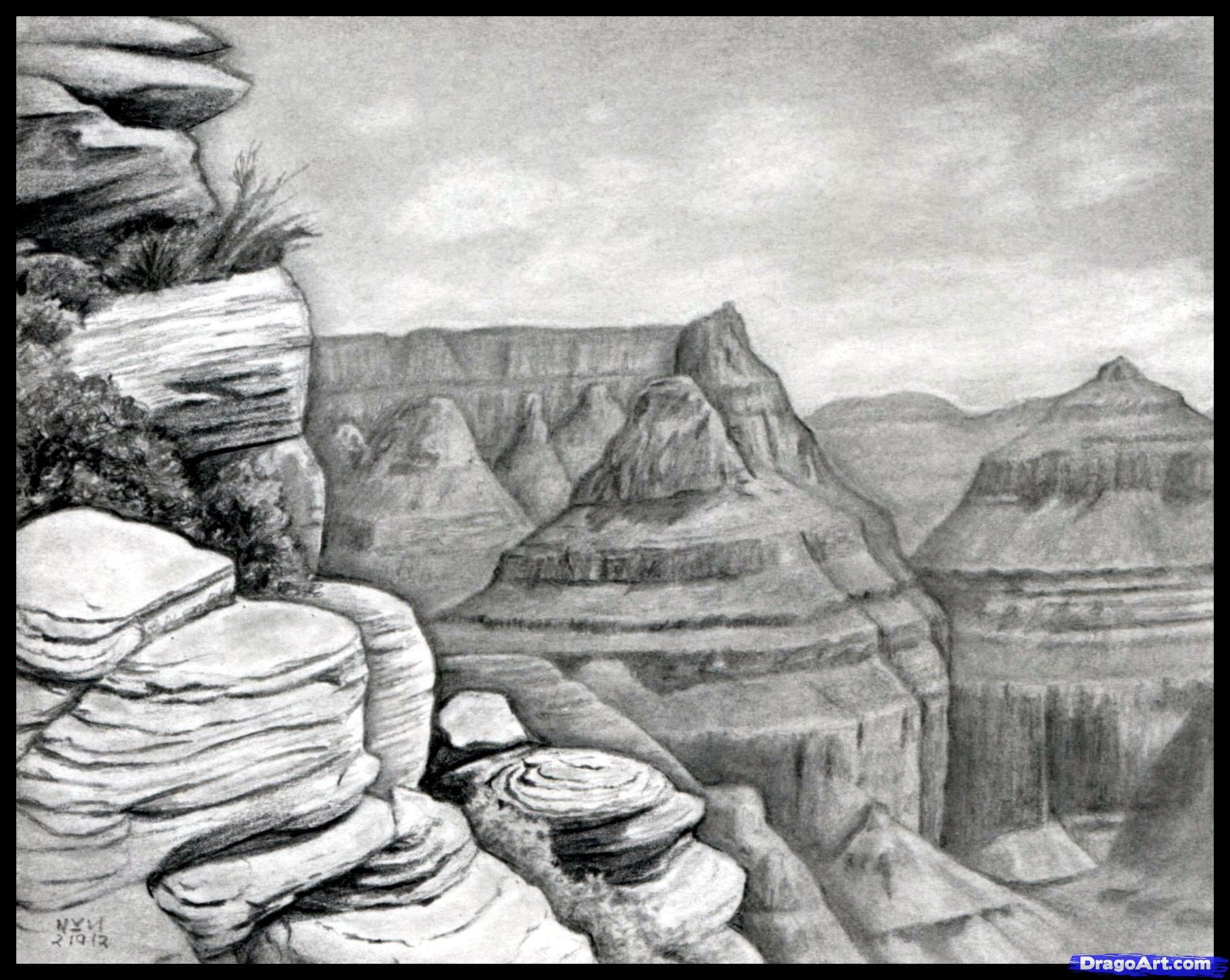 How To Draw The Grand Canyon, Grand Canyon by finalprodigy ...