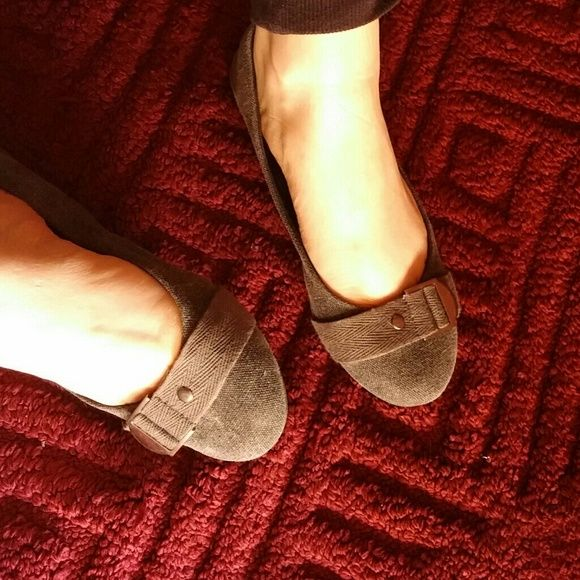 Buckled flats Never worn because I didn't like the fit BONGO Shoes Flats & Loafers