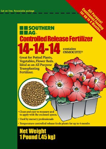 Controlled Release Fertilizer 5lb 141414 Contains Osmocote Check This Awesome Product By Going To The Link At The Image Fertilizer Landscape Glass Mulching