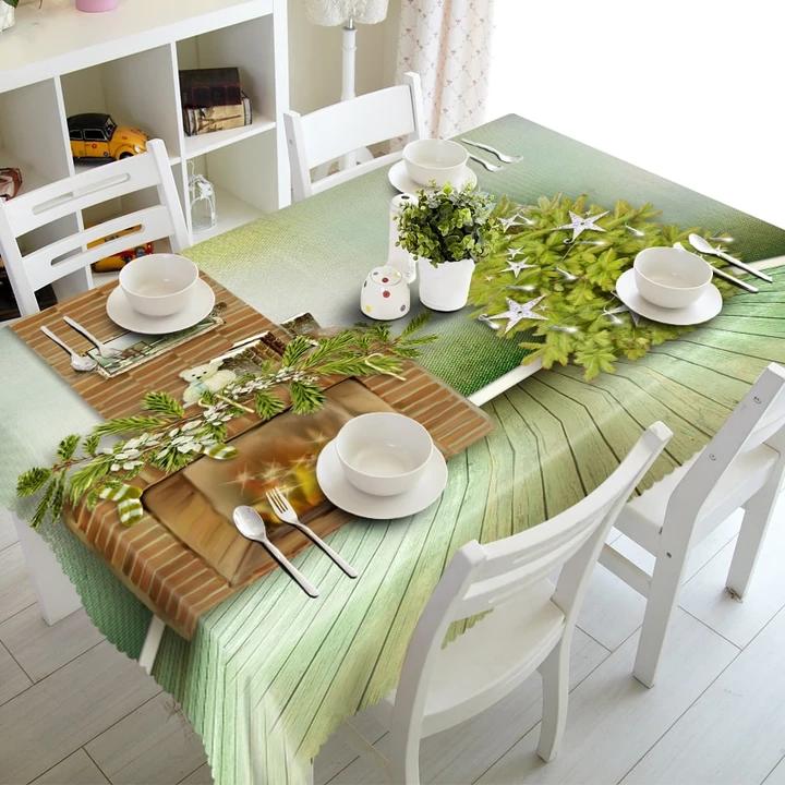 3D Christmas Tablecloth Just For You Christmas table