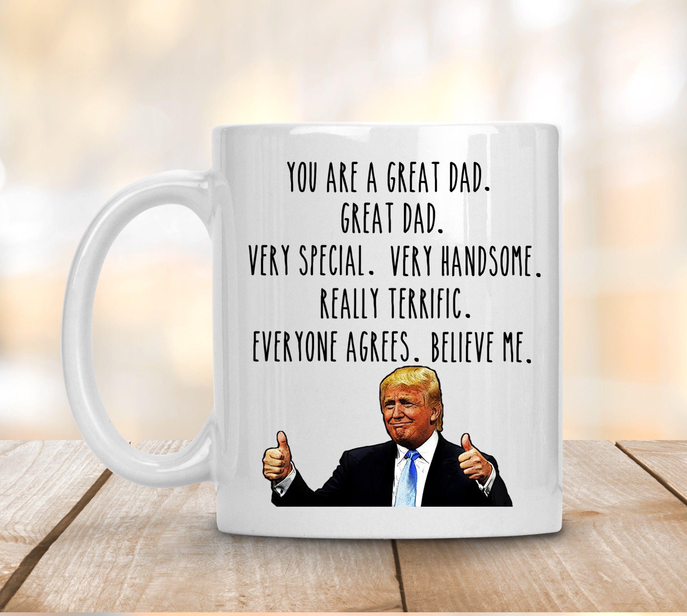 Funny 4th Anniversary Mug Trump Mug 4 Year Anniversary Gift For Husband