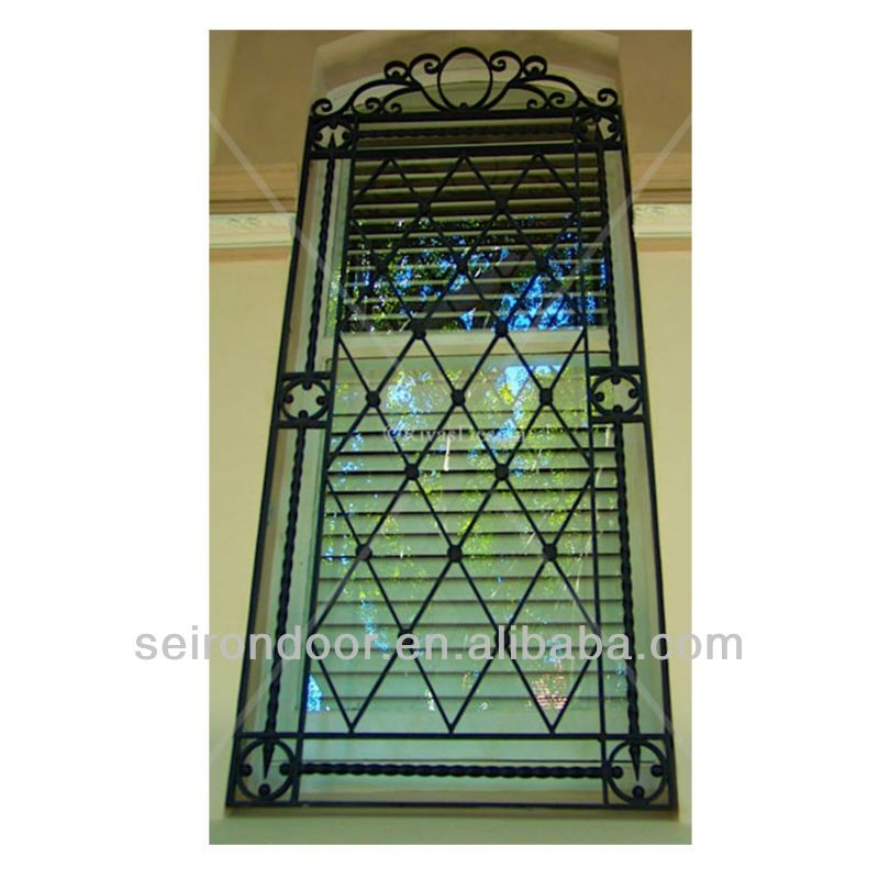 Steel Window Grill Design With Good Price $180~$680