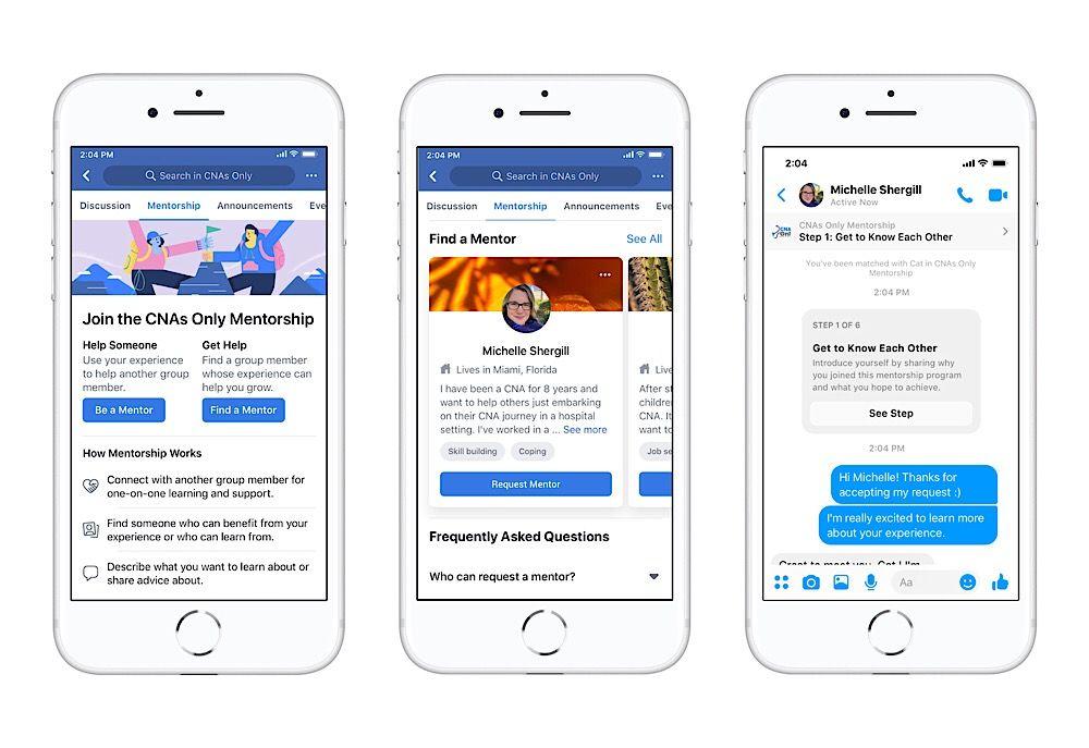 Facebook Aiuta A Cercare Lavoro Facebook Carriera Strumenti