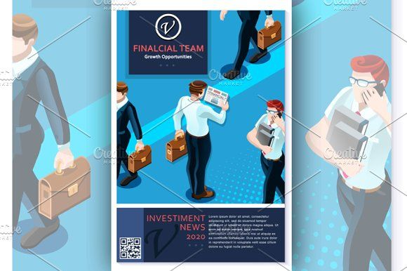 Consultant Report Vector Flyer by a Little Vintage Shop on